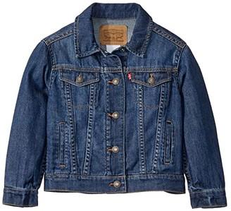 Levi's Kids Lightweight Trucker Jacket (Little Kids) (Siren) Girl's Clothing