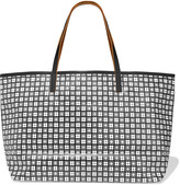 See by Chloe Jude medium leather-trimmed printed PVC tote