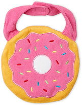 rising star (Infant Girls) Sprinkle Donut Bib