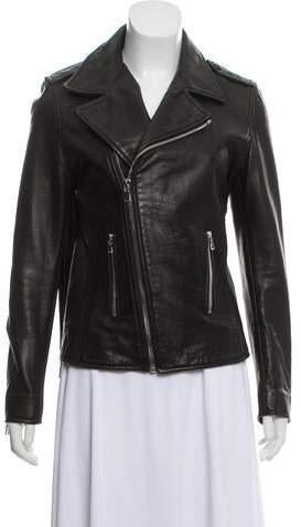 9c5ae20e6 Denim Leather Fringe Jacket