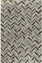 Bashian Rugs Tuscon Cow Hide Grey Area Rug Rug