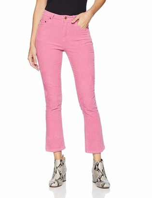Pam & Gela Women's Crop Slim Flare