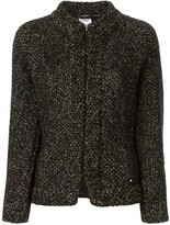 Chanel Pre Owned boucle tweed jacket