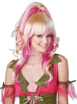 California Costumes Women's Sugar and Spice Wig Sexy Anime Lolita Space Alien Warrior Style