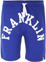 Franklin & Marshall Bluette Contrast Logo Jersey Shorts