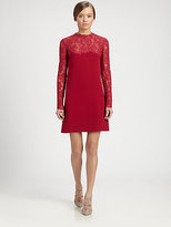 Valentino Lace Bodice Dress