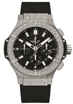 Hublot Big Bang 44mm Steel Diamond Watch