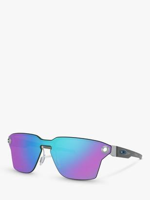 Oakley OO4139 Men's Lugplate Prizm Square Sunglasses