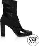 Terry De Havilland Shard Heeled Boots- Black
