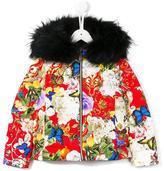 Roberto Cavalli all-over floral print jacket
