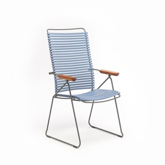 Pigeon Click Position Outdoor Dining Chair Blue