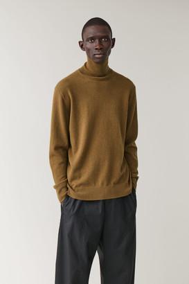Cos Cashmere Turtleneck Sweater