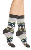 Happy Socks Women's Snowflake Crew Socks