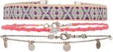 Accessorize 3x Belize Choker Necklace Pack