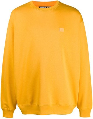 Acne Studios Oversized Long-Sleeve Sweatshirt