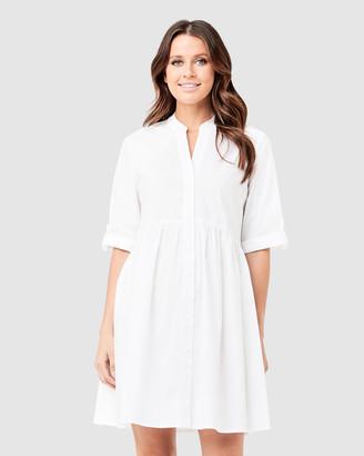 Ripe Maternity Paige Poplin Dress