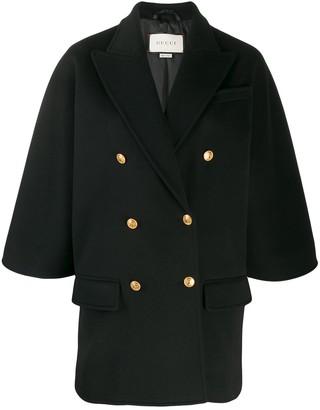 Gucci boxy-fit blazer jacket
