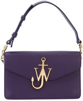 J.W.Anderson logo plaque shoulder bag - women - Leather - One Size