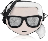 Karl Lagerfeld K/Iconik Face Crossbody Bag