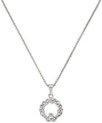 Steel By Design Steel by Design Claddagh Pendant with Chain