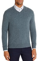 The Men's Store At Bloomingdale's The Men's Store at Bloomingdale's Cashmere V-Neck Sweater - 100% Exclusive