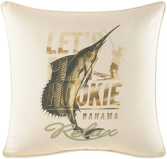 Tommy Bahama Let's Play Hookie Pillow