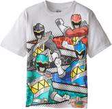 Power Rangers Little Boys' Short Sleeve T-Shirt Shirt
