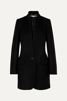 Stella McCartney Bryce Wool-blend Coat - Black