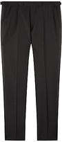 Jaeger Wool Mohair Slim Dinner Suit Trousers, Black