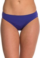 Laundry by Shelli Segal Solid Ruched Hipster Bikini Bottom 8123133