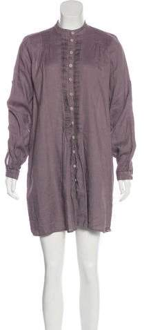 Cp Shades Linen-Blend Shirtdress