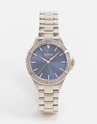 HUGO BOSS rose gold metal bracelet watch 1502468