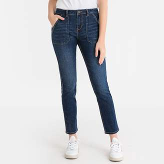 Labdip Jane Reg Straight Jeans with Large Pockets, Length 28""