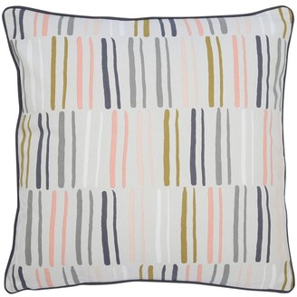 M&Co Stripe cushion