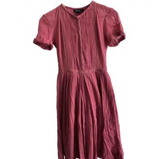 Etoile Isabel Marant Pink Cotton Dresses