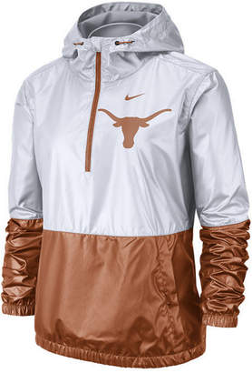 Nike Women Texas Longhorns Half-Zip Jacket