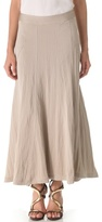 Donna Karan Floor Length Gored Skirt