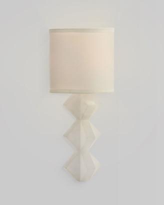 John-Richard Collection John Richard Collection Single Light Alabaster Wall Sconce
