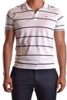 Ballantyne Men's White Cotton Polo Shirt.