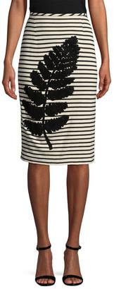 Whit Hayden Knit Pencil Skirt