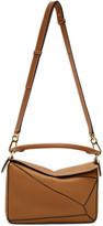 Loewe Tan Small Puzzle Bag