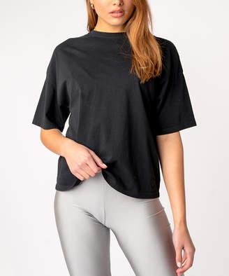 Kuwalla|Tee Women's Tee Shirts Black - Black Oversize Tee - Women
