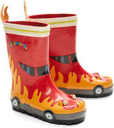 Kidorable Red Firefighter Rain Boot