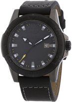Timberland TBL.13855JSUB/61 - Men's Watch, Leather, Black Color