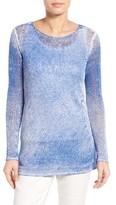 Nic+Zoe Women's Poolside Linen Blend Pullover