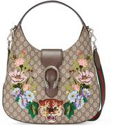 Gucci Dionysus embroidered medium GG Supreme hobo