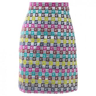 Gucci \N Silver Viscose Skirts