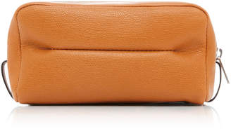 Valextra Medium Classic Soft Leather Beauty Case