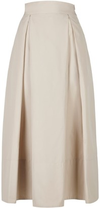 A Line Clothing Desert Nude A-Line Skirt
