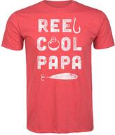 Heather Red 'Reel Cool Papa' Tee - Men's Regular